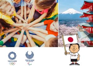 Cover der Unterrichtsmaterialien Primarstufe Tokio 2020